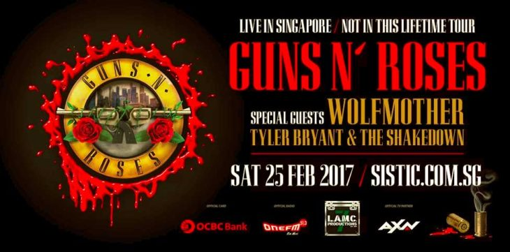 Guns N' Roses Live in Singapore 2017