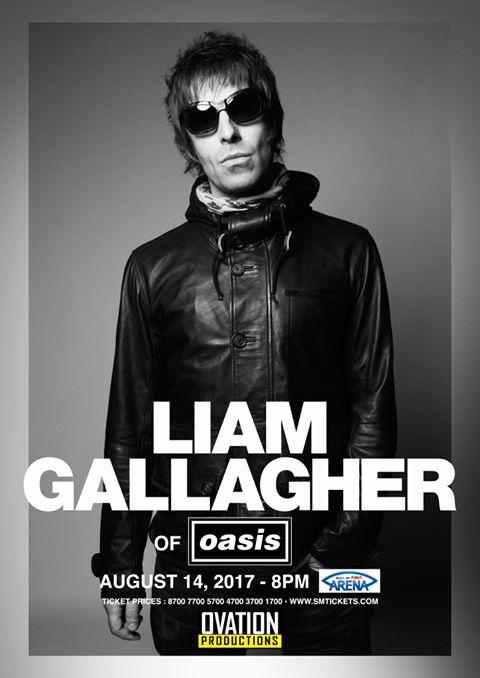 Liam Gallagher Live in Manila 2017