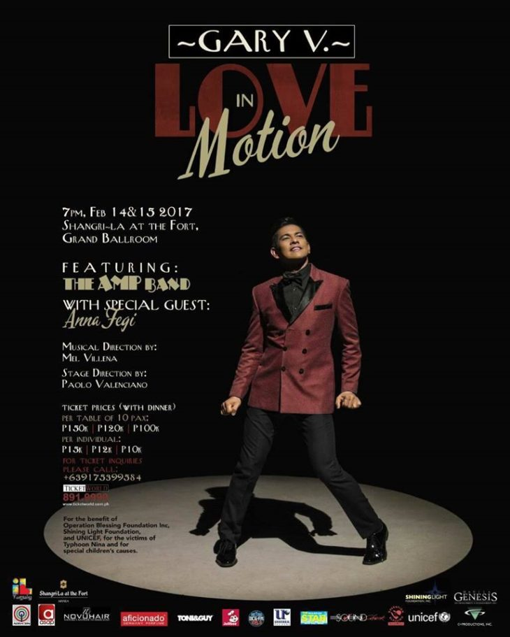 Love in Motion featuring Gary Valenciano