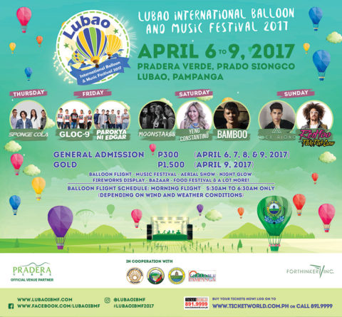 Lubao International Balloon and Music Festival