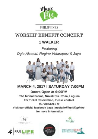 Music for Life Worship Benefit Concert
