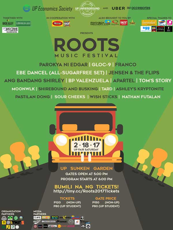 UP Fair Roots Music Festival 2017
