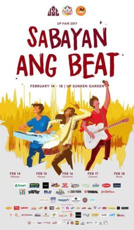 UP Fair 2017 : Sabayan ang Beat