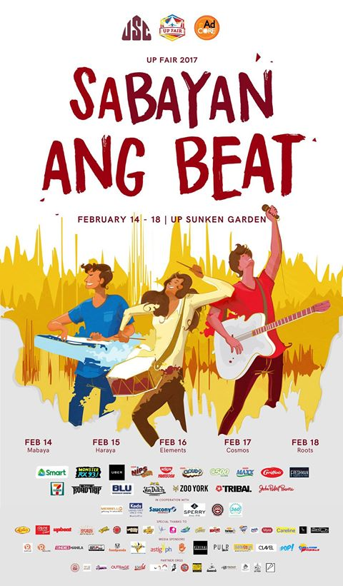 UP Fair 2017 : Sabayan ang Beat