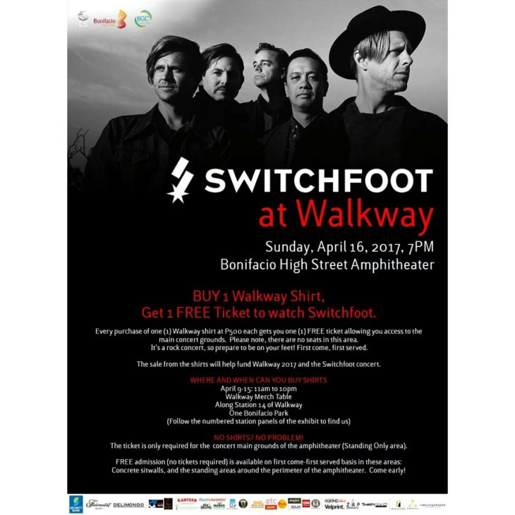 Switchfoot live in Manila 2017