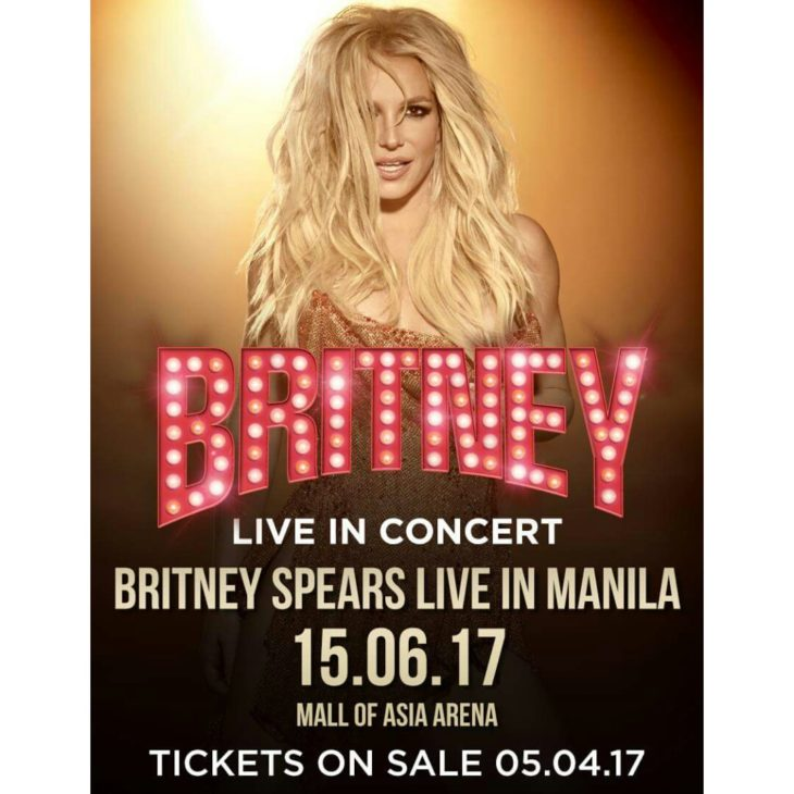 Britney Spears live in Manila