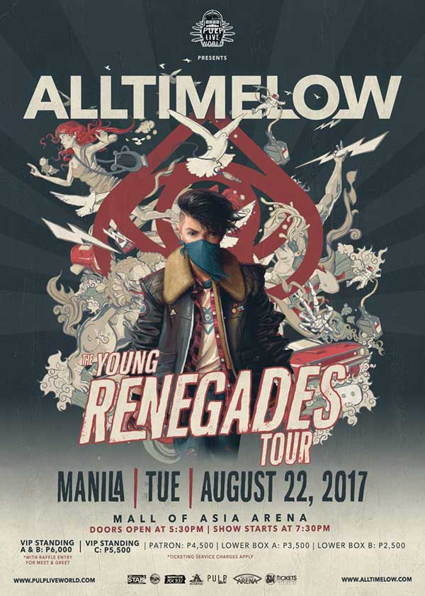 All Time Low Live in Manila 2017