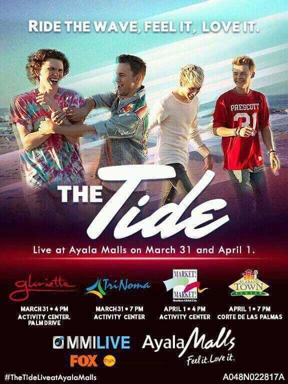 The Tide Live at Ayala Malls