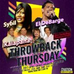 Throwback Thursday on April 27 at The Big Dome