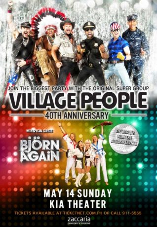 Village People Live in Manila 2017