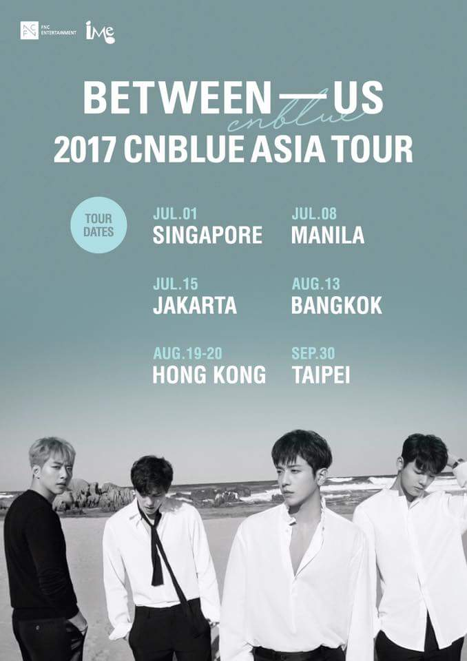 BEETWEEN – US: CNBLUE live in Manila 2017