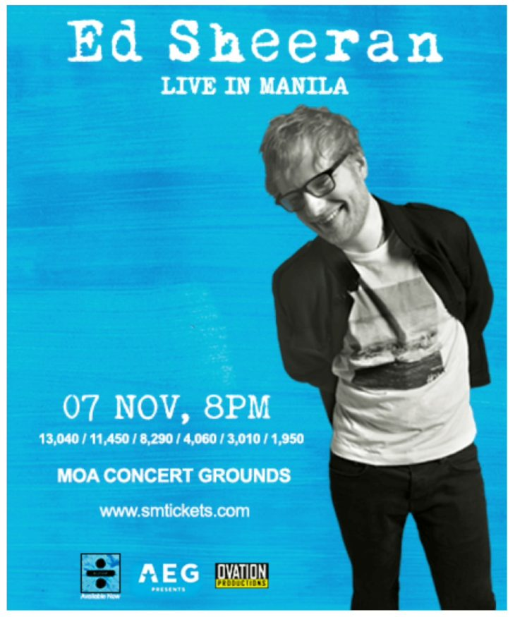 Divide Tour: Ed Sheeran live in Manila