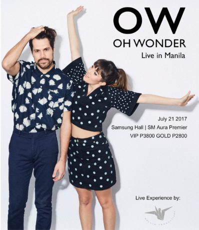 Oh Wonder live in Manila 2017