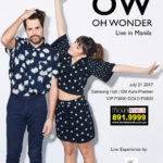 Oh Wonder Live in Manila 2017