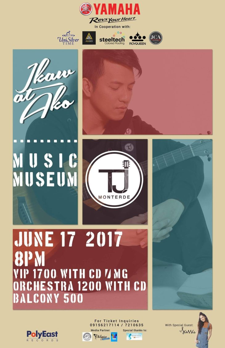 Ikaw at Ako Concert: TJ Monterde live at the Music Museum
