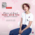 Park Shin Hye live in Manila