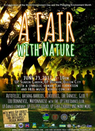 A Fair with Nature at the UP Sunken Garden