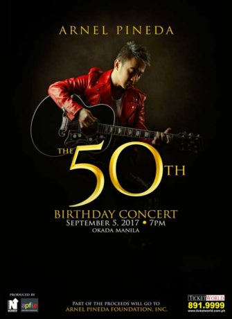 Arnel Pineda: The 50th Birthday Concert