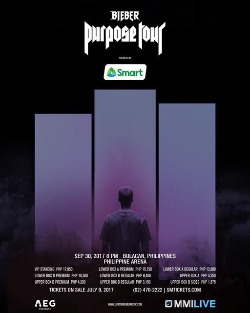 Justin Bieber Live in Manila 2017 Cancelled