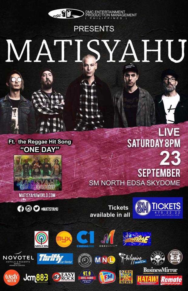 Matisyahu Live in Manila 2017