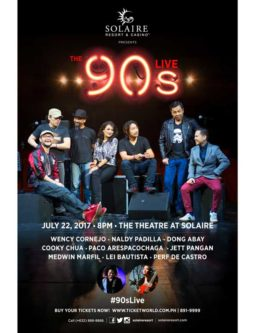 The 90's Live at Solaire Resort