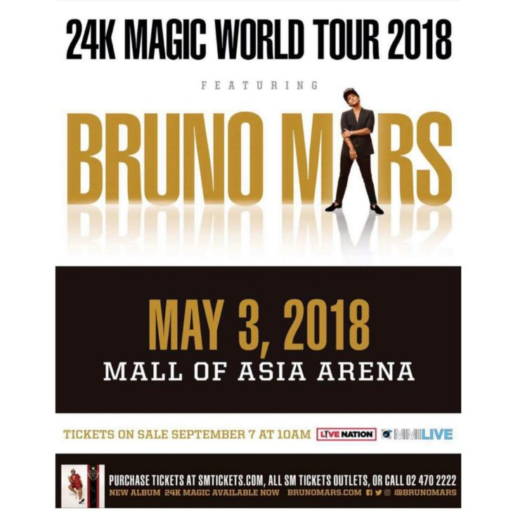 24K Magic World Tour: Bruno Mars live in Manila