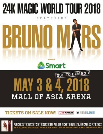 Bruno Mars Live in Manila 2018