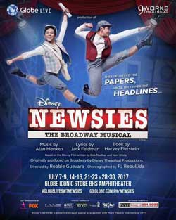 Disney Newsies Musical