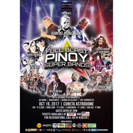 Full Blast Pinoy Super Bands Concert