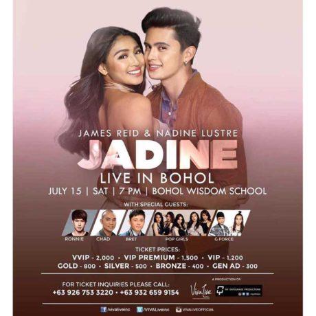 Jadine Live in Bohol