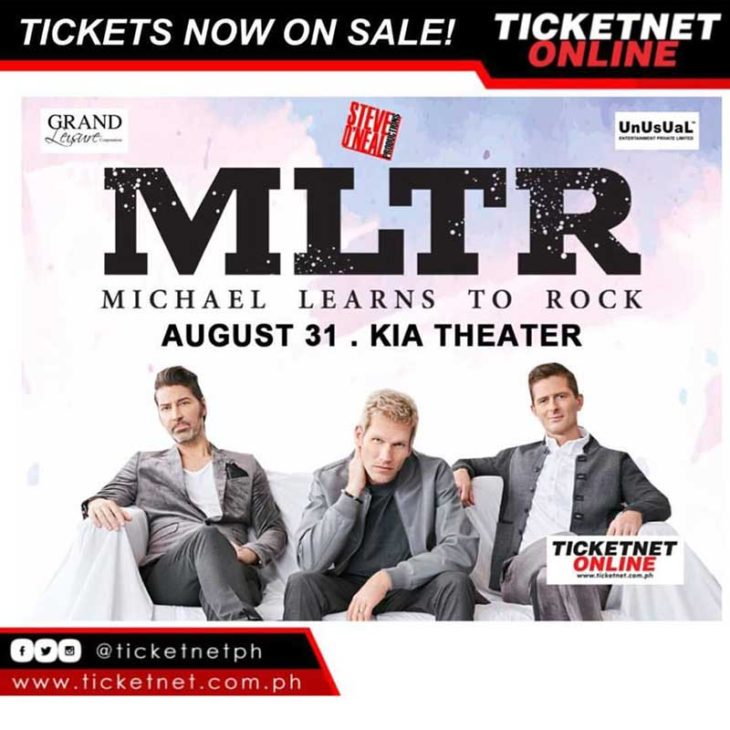 Michael Learns to Rock Live in Manila 2017