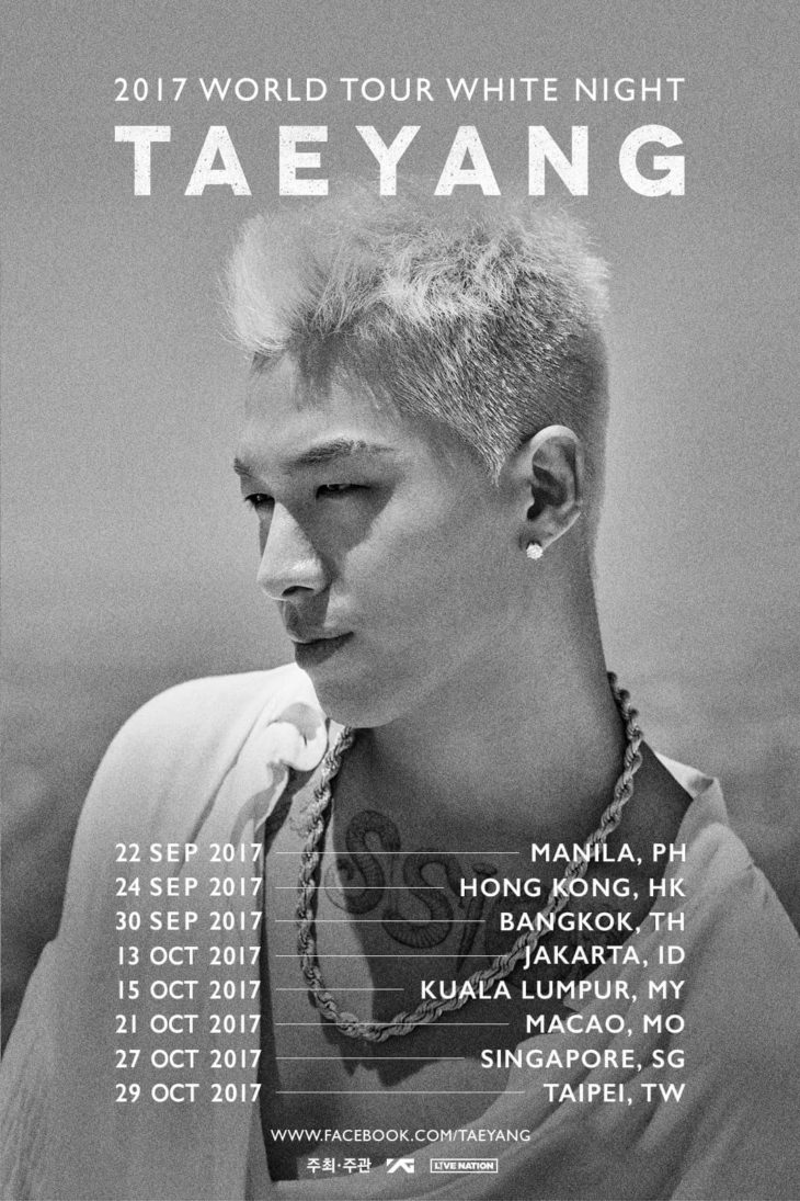 2017 Word Tour White Night Taeyang Live in Manila