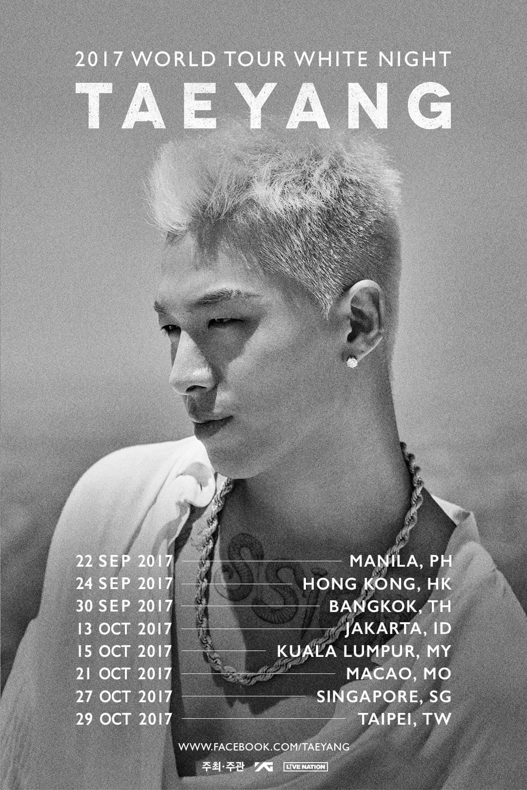 2017 Word Tour White Night Taeyang Live in Manila ...