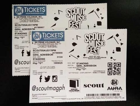 Scout Music Fest Ticket Promo