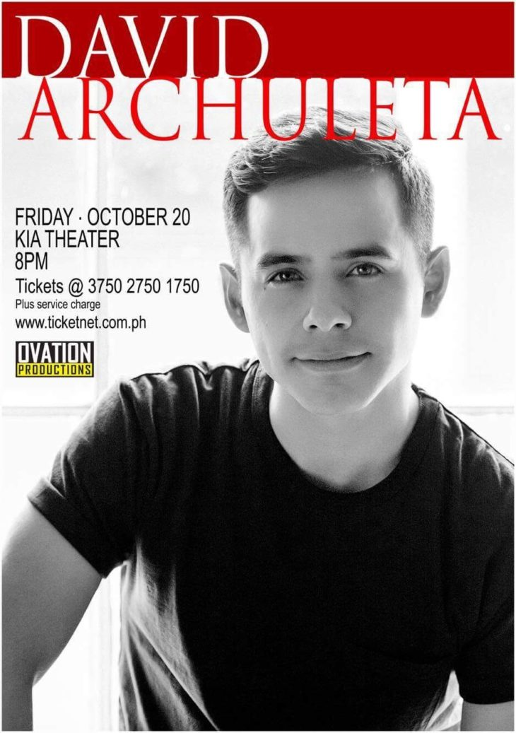 David Archuleta live in Manila 2017