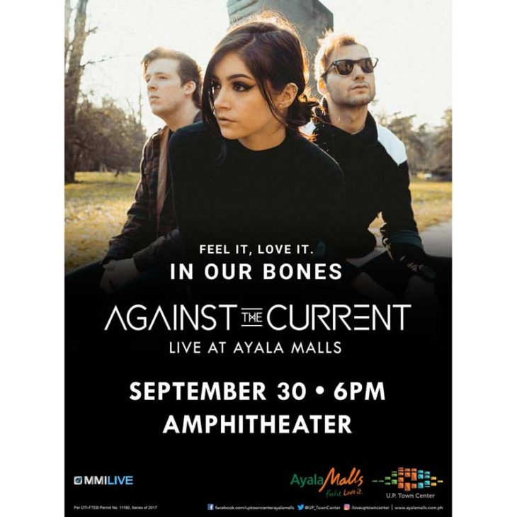 Against The Current Live at Ayala Malls