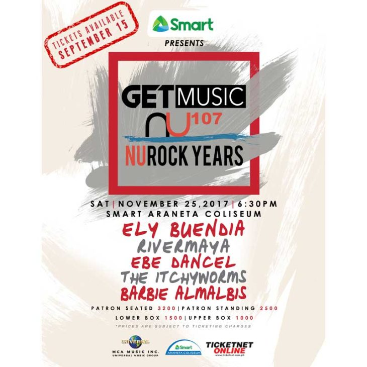Relive the Sound of a Generation as Smart Music Live Presents: GetMusic NU Rock Years