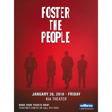 Foster The People Live in Manila 2018