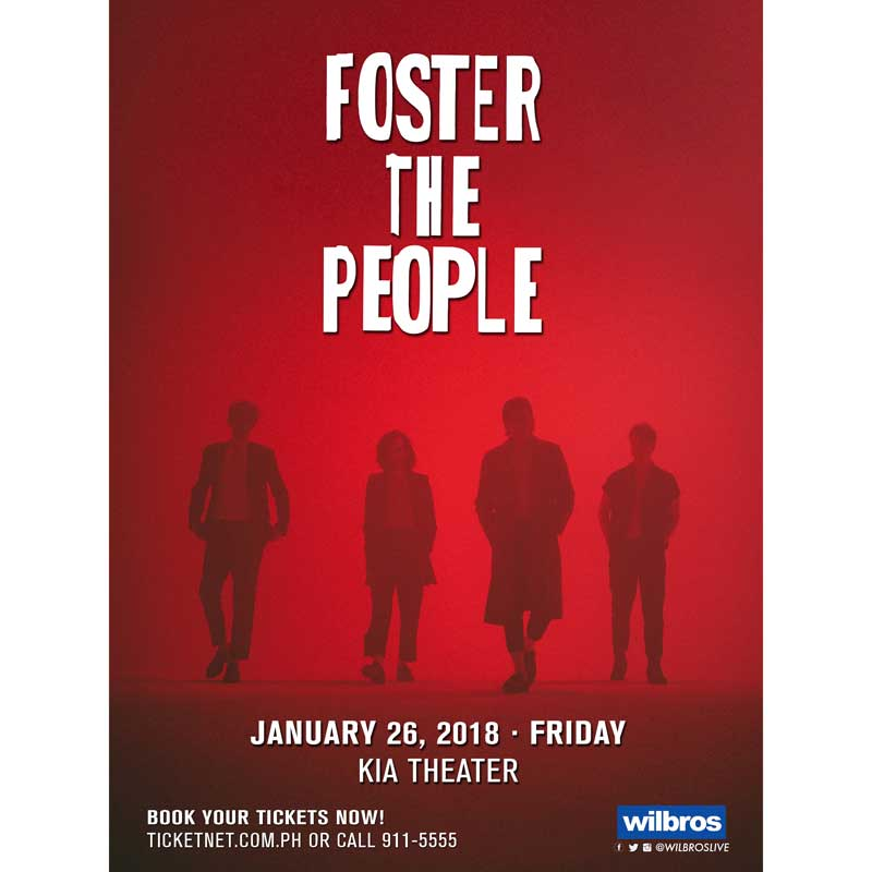 Foster The People Live in Manila 2018 | Philippine Concerts