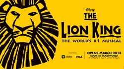Lion King Musical 2018