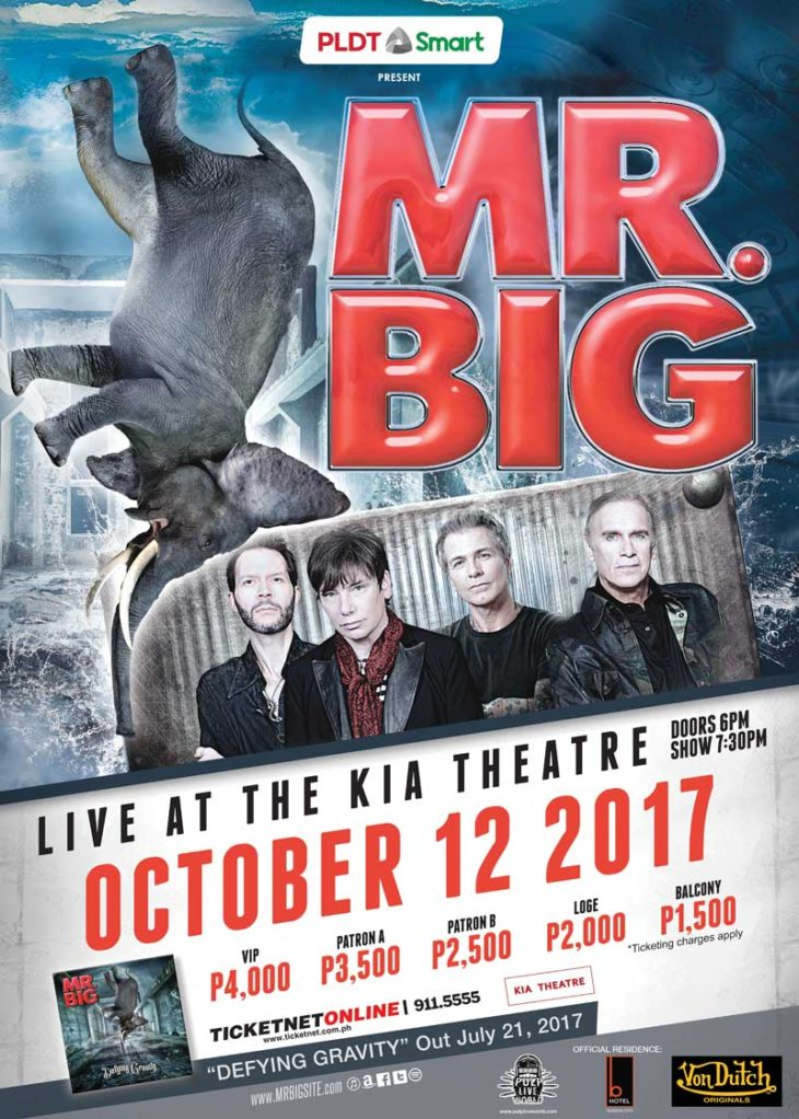 Still Addicted to that Rush – Mr. Big Live at the Kia Theatre