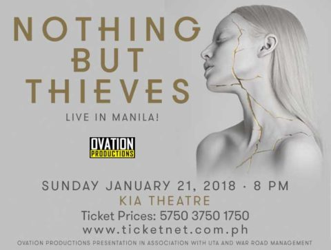 Nothing But Thieves Live in Manila 2018