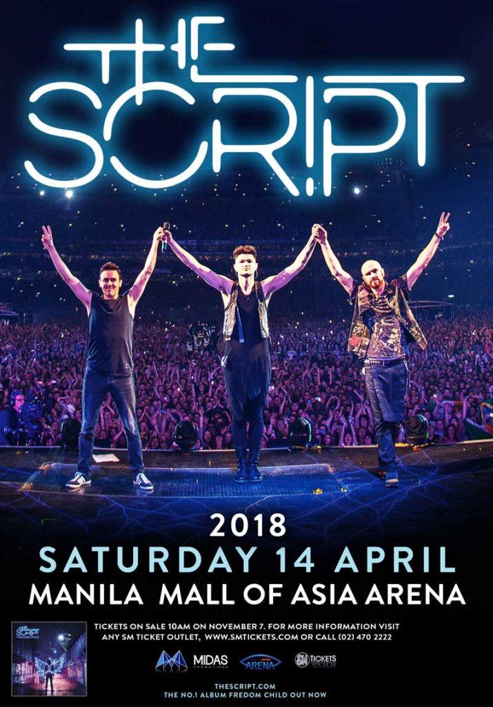 The Script Live in Manila 2018 | Philippine Concerts