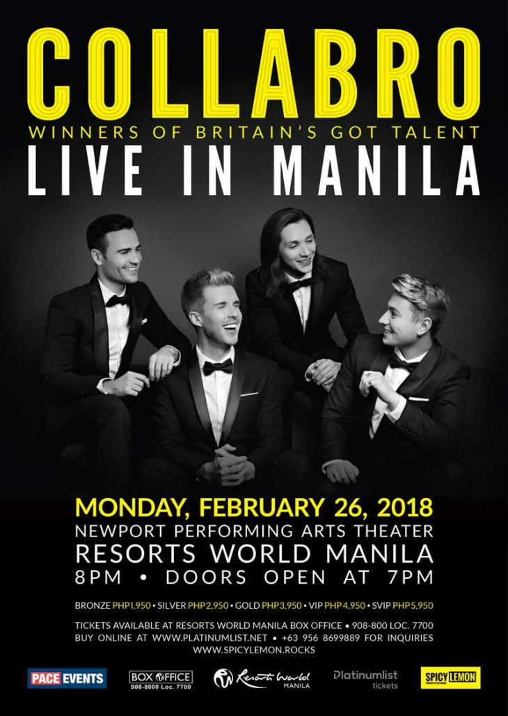 Collabro Live in Manila 2018
