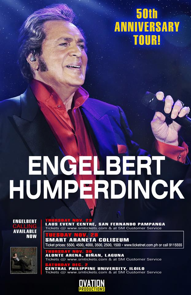 Engelbert Humperdinck – The 50th Anniversary Tour