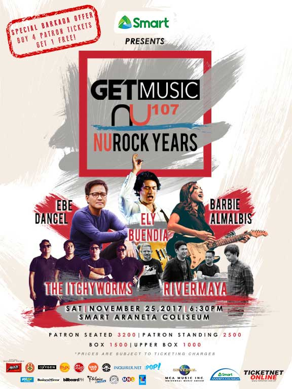 10 Reasons Why GetMusic NU Rock Years is the Go-To Music Event of the Year