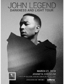 John Legend Live in Manila 2018