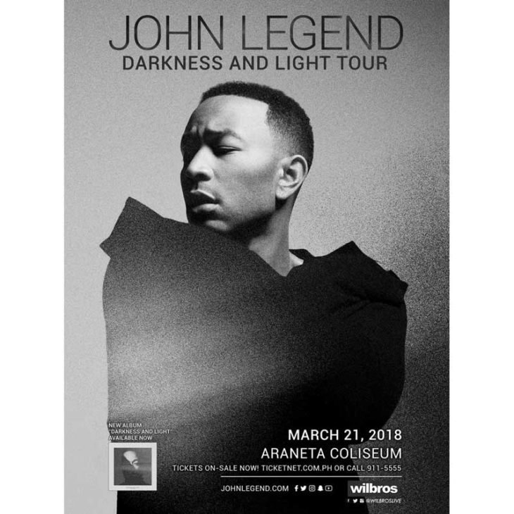 John Legend Live in Manila 2018