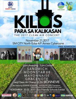 Kilos Para Sa Kalikasan - The 2017 Clean Air Concert