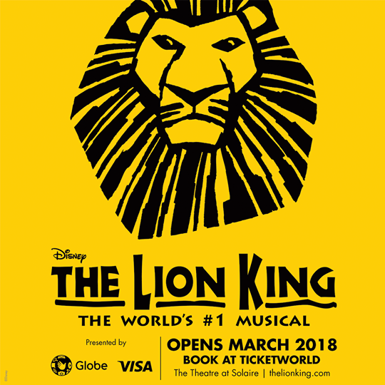 Disney's The Lion King Musical 2018